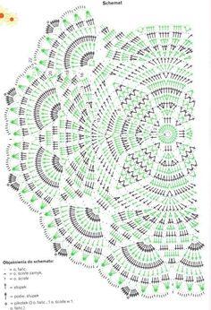 Patrones Crochet: Patron Crochet Chaleco Circulo