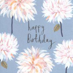 Cafe au Lait Birthday Card