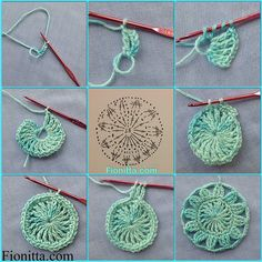 crochet home: baby blanket Crochet Earrings Pattern, Crochet Basket Pattern, Crochet Square Patterns, Basic Crochet Stitches, Crochet Diagram, Doily Patterns, Crochet Basics, Crochet Motif, Diy Crochet