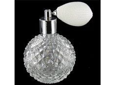 Clear Glass Perfume Bottle at Hobby Lobby $14.99 I LOVE this!!