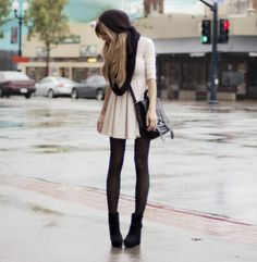 black wedges look good with anything