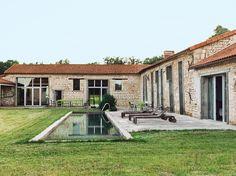 Slideshow: Matali Crasset Renovates Monory Farmhouse   Dwell #dreamhouseoftheday