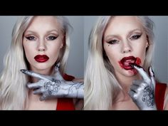 Lady Gaga The Countess AHS Makeup Tutorial - HALLOWEEN SERIES - YouTube