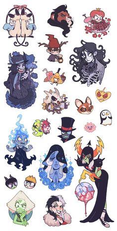 Juanmao — CharaxAsriel❤️ Character Concept, Character Art, Concept Art, Pretty Art, Cute Art, Anime Comics, Desenhos Cartoon Network, Villainous Cartoon, Arte Sketchbook