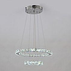 K9 cristal Cvartetului Margele cu dublă Cercul de design candelabru – USD $ 119.99