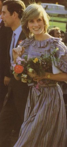Diana on her tour of Australia in March 1983