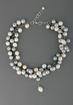Freshwater Pearl Jewelry by Olga King at Palladio Antiques
