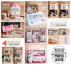 Lola Wonderful_Blog: Profes. Regalos personalizados 2015 Lola Wonderful, Presents For Friends, Party In A Box, Spa Gifts, Homemade Gifts, Teacher Gifts, Packaging, Lettering, Creative