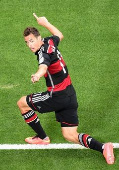 Miroslav #Klose beats #Ronaldo on the all time list of #WorldCup Goals with 16.