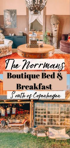 If you're a traveler, food enthusiast, or a lover of all things interior design you'll find an unforgettable experience waiting for you at The Norrmans. Just under an hour from Copenhagen, Denmark sits, The Norrmans, a boutique Bed and Breakfast, tucked in the middle of the Danish countryside. Where to stay in Denmark | Where to stay in Copenhagen | Bed and Breakfast | Hotel Denmark | Hotel Copenhagen Unique Hotels, Beautiful Hotels, Best Hotels, Road Trip Europe, Europe Travel Tips, Travel Goals, Travel Guide, European Vacation, European Travel