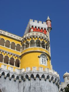 Pena Palace Pena Palace, All Holidays, Holiday Photos, Pisa, Louvre, Tower, Building, Travel, Holiday Pictures