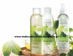Tudo sobre Avon: Avon Naturals Chá Verde & Verbena - NOVO!
