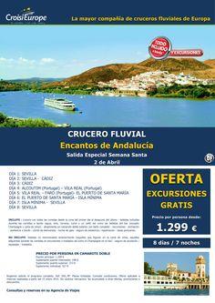 Crucero fluvial en ANDALUCÍA-oferta Excursiones Gratis-todo incluido-sal. Semana Santa 2abril(8d/7n) ultimo minuto - http://zocotours.com/crucero-fluvial-en-andalucia-oferta-excursiones-gratis-todo-incluido-sal-semana-santa-2abril8d7n-ultimo-minuto-4/