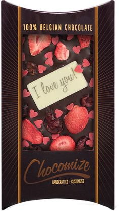I Love You Orla Mini Heart Tin Gift For I Heart Orla With Chocolates or Mints