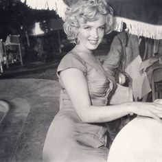 """August 3, 1952 - San Diego (attending a party thrown by jazz musician Ray Anthony to celebrate his new song """"Marilyn"""")... ✨ """"She is pure cinema."""" - Joshua Logan ✨"""