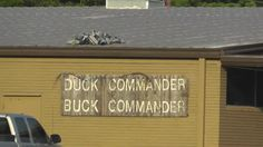 ARE YOU A FAN OF DUCK DYNASTY? We had to stop at DUCK COMMANDER'S Headquarters in West Monroe, LA. Duck Dynasty, Willie Robertson, Robertson Family, West Monroe, Louisiana, travel, vacation www.recipesforourdailybread.com