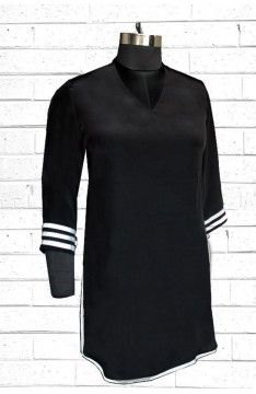 Short kurta - Tunic: The Luxury Label's Elvan Collection for #indianofficewear #indianworkwear #Indianofficefashion #indianformals