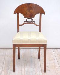 Set of 12 Empire Period Karl Johan Mahogany Dining Chairs, circa 1820