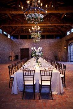Intimate Estate Wedding Seating