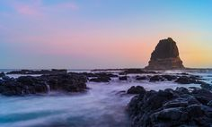 Pulpit Rock just after sunset. Cape Schank Victoria [4899x2949] [OC] -Please check the website for more pics