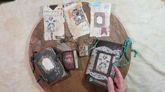 Victorian Steampunk Mini Junk Journal Collection Design Team Project For...