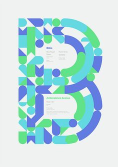 Ambivalence Avenue | colores #type #typography #design #shapes