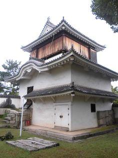 岡山城 月見櫓(重文) 2014.09.04