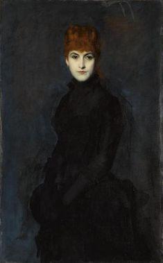 Jean-Jacques Henner, Portrait de la comtesse Kessler (1886).