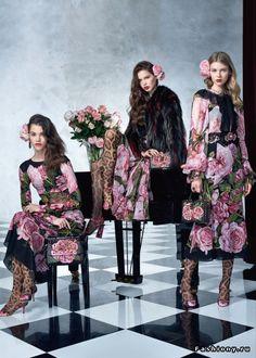 Dolce & Gabbana Весна-Лето 2017 (Lookbook) Часть 1