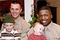 Adopt a Marine for Thanksgiving. I am happy to know that people do this! :D