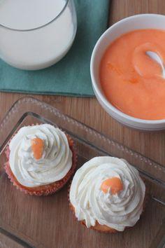 Para Alguien Especial:  Cupcakes de Vainilla y Toronja