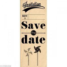 Sello Boda - La bague au doigt - Save the date - 15 x 6 cm - Fotografía n°1