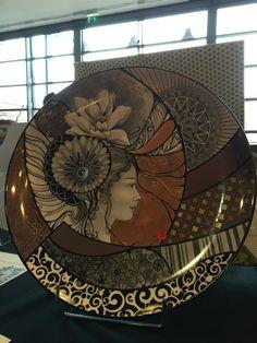 Salon international de peinture sur porcelaine Lyon 2015 Aline Koyess