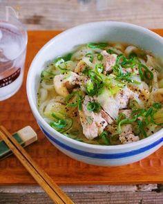 ゴマ油香る♡『鶏ネギうま塩うどん』 by Yuu | レシピサイト「Nadia | ナディア」プロの料理を無料で検索