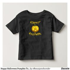 Happy Halloween Pumpkin Toddler Shirt