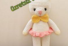 Amigurumi Ayı Türkçe Tarif Teddy Bear, Toys, Youtube, Animals, Amigurumi Doll, Crochet Stitches, Activity Toys, Animales, Animaux