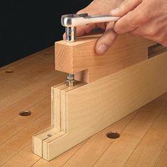 Easy Hardware Installation | Woodsmith Tips