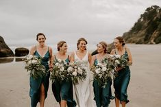 Millie and her girls not letting a bit of rain stop us. Grey Weddings, She Girl, Bridesmaid Dresses, Wedding Dresses, Rain, Let It Be, Girls, Fashion, Bridesmade Dresses