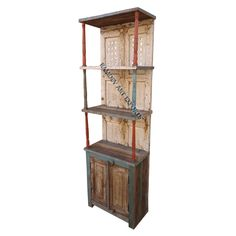 Indian Two Door Book Case Item Code : RD-BK-14-1 Item Size : 64X33X200