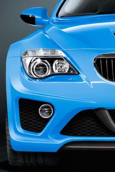 Color Azul - Blue!!! BMW 6 Series Hurricane