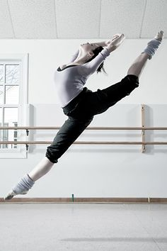 Ballet - Kitri's Leap by HowNowVihao.deviantart.com