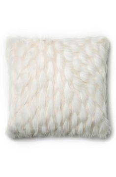 Loloi Sculpted Faux Fur Pillow