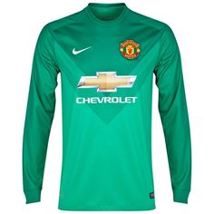 Nike Manchester United Goalkeeper Shirt 2014/15 - Manchester United Goalkeeper Shirt 2014/15 - KidsTEAM LOYALTY. TOTAL COMFORT.The 2014/15 Manchester United KidsGoalkeeper Shirt is made with sweat-wicking Dri-FITfabric for lightweight comfort for  http://www.MightGet.com/february-2017-2/nike-manchester-united-goalkeeper-shirt-2014-15-.asp