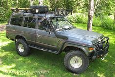 1985 Toyota Landcruiser FJ60. Mind you, would need conversion to vegetable fuel (hee hee, can you imagine)!