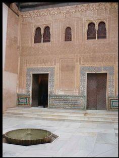 Palais de Comarès, Cuarto Dorado, Alhambra, Grenade, 2ème moitié XIV