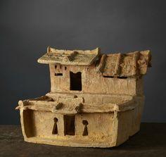 casa de campo fortificada, Vietnam, período Han-Việt, 1 al 3 de siglo