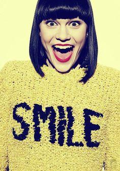 Always smile with jessie j