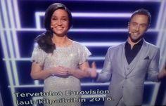 TV1 KULTTUURI MUSIIKKI EUROVIISUT 2. SEMIFINAALI 12.5.2016 TUKHOLMA. 61. EUROVIISUT. HISTORIAA. TILASTOJA. Tykkään&SEURAAN Nähdään. HYMY Yle.fi Eurovision.tv