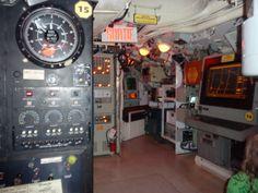Onondaga Submarine Museum; Control Room, Rimouski QC