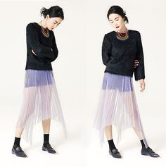 Faye Wong - Celine Pre-Fall 2014 Celine, Faye Wong, Phoebe Philo, Looks Style, Editorial Fashion, Tulle, Fashion Editorials, Celebrities, Style Ideas